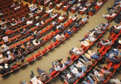 Salle de congrès